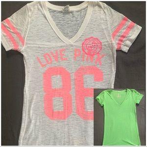 Victoria's Secret cotton T-shirt set